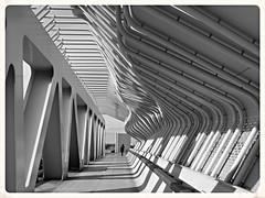Trottoir du pont de la gare de St-Nazaire. (CorcuffR) Tags: saint st nb pont trottoir nazaire