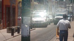 Ambulancia para atencin a herido en calle Invierno (inqro) Tags: noticias fotos quertaro inqro