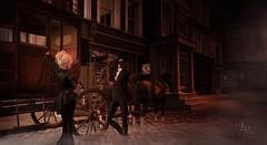 "Victorian Series - ""How do you do?"" (Vita Camino) Tags: camino victorian visit retro sl secondlife anthony historical sim vita locations gartner anhony"