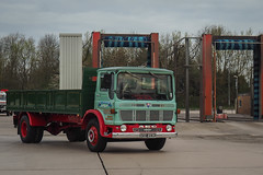 AEC Mercury - XOD 493K (Ben Matthews1992) Tags: old england truck vintage wagon 1971 cheshire mercury britain historic lorry commercial preserved services preservation waggon newsome 2016 aec lymm roadrun dropside classci cheshirerun xod493k