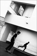 speed up (bostankorkulugu) Tags: barcelona architecture spain catalonia skate skater catalunya macba museumofcontemporaryartinbarcelona