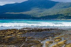 Tesalated Rocks (JPS Photography1) Tags: ocean sea nature water coast nikon rocks waves australia land tasmania scape d7000