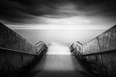 The Unknown (David Ball Landscape Photography) Tags: longexposure sea sky blackandwhite seascape storm art nature water monochrome architecture clouds canon landscape outdoors photography mono blackwhite artist moody cloudy fineart naturallight tones 2016 leefilters cloudsstormssunsetssunrises superstopper davidballlandscapephotography
