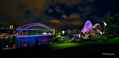 Sydney Harbour Botanic Garden View. (Victor Ye) Tags: winter pacific harbour operahouse sydneyharbour canon6d vividsydney2016