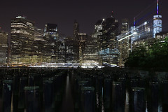 Manhattan (Eugene Rapp) Tags: skyline waterfront night photo photography water buildings skyscrapers river beautiful cityscape landscape pier panorama usa nyc new york city outdoor
