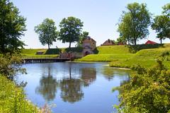 Kastellet (Katya_N) Tags: bridge lake reflection water copenhagen denmark kastellet