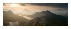 Y Lliwedd, Snowdonia. (Steve Millington) Tags: ylliwedd snowdonia snowdonhorseshoe landscape uklandscapes northwales mountains mountainscape sunrise nikond800 nikon2470mmf28 stiched panoramic leefilters fineartlandscapes