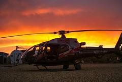 las vegas desert with heli (photoggigraphy) Tags: sunset usa sun geotagged dawn desert lasvegas outdoor helicopter dmmerung amerika heli wste nightfall sonydslra300
