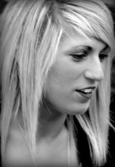 Street Portrait (patrick_milan) Tags: street portrait people blackandwhite bw woman white black girl monochrome face women noir noiretblanc femme nb rue fille blanc personne streetview gens visage