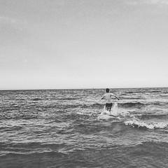 # # # # # # #monkeynmouse #mnm #vietnam #danang #namanretreat #beach #sea #blackandwhite # (www.monkeynmouse.com) Tags: moon square squareformat iphoneography instagramapp uploaded:by=instagram