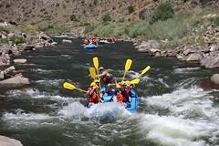 Lawn Aeration (lawnpros) Tags: colorado rafting lawnpros