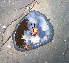 drinkme (Messi Queens) Tags: urban water strada drink marciapiede pozzanghera