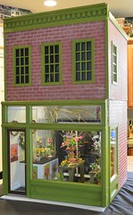 1/6 scale Street of Dreams project. (Ken Haseltine Regent Miniatures) Tags: flower shop 16 diorama 16scalefurniture regentminiatures kenhaseltine 16scalehouse