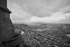 Stirling, rain incoming (Hey hey JBA) Tags: city blackandwhite bw monument monochrome rain clouds scotland blackwhite stirling d750 wallace 24mm ai stirlingcastle captureone