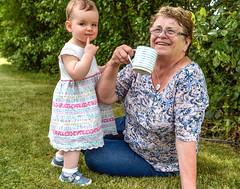 A Quizzical Look! (Nikki & Tom) Tags: uk grandma liz girl toddler child sophie tynewear