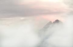 Sgurr Thormaid. (omarkhyam600) Tags: scotland skye cuillin mountain mist cloud afterglow nikond750