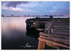 An old jetty (fiftymm99) Tags: nikon singapore d750 oldjetty fiftymm99 anoldjetty