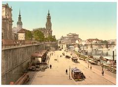 00940u (DenjaChe) Tags: dresden sachsen 1900 postcards 1900s postkarten ansichtskarten