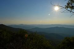 Mountain Layers B (NC Mountain Man) Tags: trees sky mountains haze nikon valleys d3200 ncmountainman phixe layerssun
