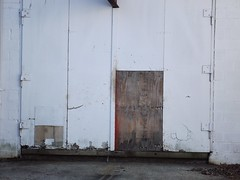 plydoor (TMQ.st.louis) Tags: door white abandoned wall plywood