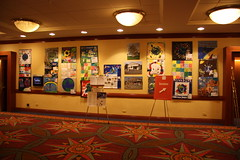 2012 NAEA Conference Hilton Hotel, New York City  Exhibit during conference: March 1  4, 2012 (The Dream Rocket Project) Tags: christmas family school trees people mountain newyork green art home water nova animal glitter kids trash stars washington community war paint peace kentucky space flag unitedstatesofamerica group cancer conservation diversity astronaut felt save aliens nasa clean explore health environment leader twintowers express olympic agriculture racism elementary planting abuse humans equality global religous facebook discover intolerance saturnvrocket presidentobama internationalfibercollaborative thedreamrocket