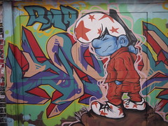 Clarion Alley (davitydave) Tags: sf sanfrancisco california streetart graffiti stencil mural wheatpaste tag bayarea mission sfist clarionalley