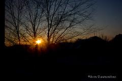 65/366 - The Good Morning Star! (Siva Viswanathan) Tags: morning winter light sun snow canon rebel one star year perspective challenge t3i mygearandme sivaviswanathan oneyearchallenge
