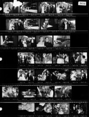 1989-contact-sheet-SCO (Paul-W) Tags: family wedding friends bw newmexico santafe sarah groom bride blackwhite carlos scanned contactsheet negatives