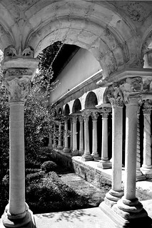Cloister; Aix-en-Provence  France