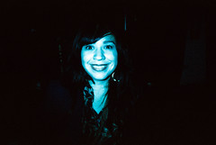 Carla Morrison (girl-from-ipanema) Tags: music film analog 35mm lomo lomografa lomography bogot colores slidefilm crossprocessing analogue colorsplash plasticcamera carlamorrison festivalcentro