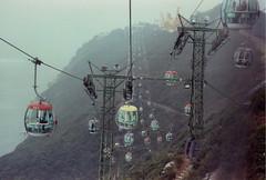Ocean Park Cable Car (Van Calaguas) Tags: ocean park film car 35mm canon kodak cable scan hong kong ft expired ql