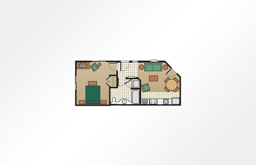 Cibola Vista Resort and Spa 1-Bedroom - 530 sq ft