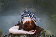 81 (Alyssa Jiosa) Tags: lake water forest swim pond hike hidden mermaid redhair siren ophelia