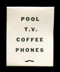 Pool T.V. Coffee Phones