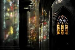 Reflets dans l'abbatiale St-Taurin d'Evreux (Philippe_28) Tags: france max church glass abbey saint gothic stained explore vitrail normandie 27 normandy église gothique eure abbaye vitraux evreux abbatiale ingrand taurin verrier nikonflickrawardgold