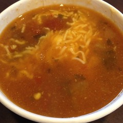Tortilla Soup @ qdoba mexican grill (ChunLum) Tags: tortillasoup qdobamexicangrill foodspotting foodspotting:place=101944 foodspotting:review=1488614