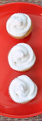 Three Chai Cupcakes in a Row (The Hathi Cooks) Tags: food dessert mint whippedcream cupcake lemongrass chai
