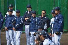 DSC_1025 (mechiko) Tags: 120205 横浜ベイスターズ 大原慎司 横浜denaベイスターズ 2012春季キャンプ