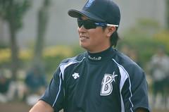 DSC_1447 (mechiko) Tags: 120205 横浜ベイスターズ 渡辺直人 横浜denaベイスターズ 2012春季キャンプ