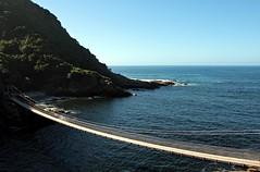Suspension Bridge (orkomedix) Tags: ocean africa park bridge canon view suspension south sigma southern national cape tsitsikamma 550d