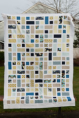 Rectangle Sq Quilt top (Paula Wessells) Tags: quilt filminthefridge whitesashing