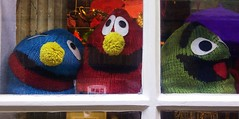 Happy Hat Shop (eMAJgen) Tags: cute window shop hats characters knitted ashbydelazouch