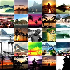 Rio Scenes (RioParadiso Studio) Tags: ocean sunset pordosol sea brazil people mountains praia beach sports nature colors silhouette rio brasil riodejaneiro sunrise de landscape surf janeiro natural paisagem copacabana b7w montanhas arpoador brasilemimagens flickrstruereflection1 flickrstruereflection2