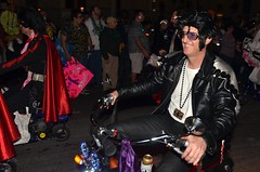 The Rolling Elvi in the Krewe of Muses 2012 Parade