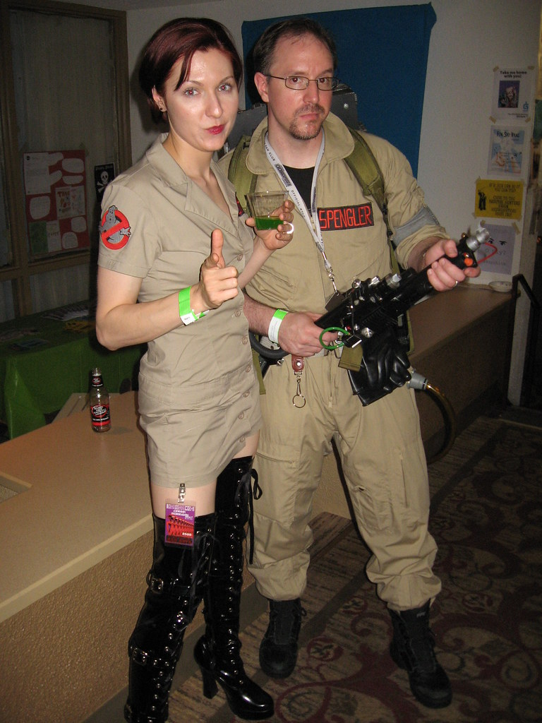ConVergence 2010 Janine and Egon (pseudohistorian) Tags cosplay convergence twincities bloomington ghostbusters  sc 1 st  Fiveprime & The Worldu0027s most recently posted photos of convergence and ...