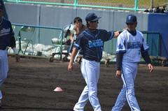DSC_0691 (mechiko) Tags: 横浜ベイスターズ 120212 渡辺直人 藤田一也 横浜denaベイスターズ 2012春季キャンプ