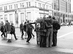 group hug - I (Joris_Louwes) Tags: people hug affection group grouphug spontaneous sponteneous hugfest
