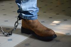 DSC_8931 (jakewolf21) Tags: work cowboy boots bondage rope sierra jeans hogtied ariat