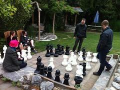 Oversized chess