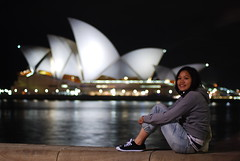 Alice (J.D Chen ) Tags: christmas trip travel summer vacation house holiday nikon opera tour au working sydney australia nsw newsouthwales merry operahouse merrychristmas nite   backpackers whv d80  workingholidayvisa